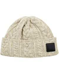 Canada Goose - X Mackie Cable Knit Beanie Hat - Lyst