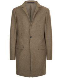 AllSaints   Denton Coat, Brown, 34   Lyst