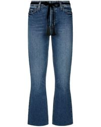 PAIGE - Colette Cropped Flare Jeans - Lyst