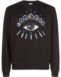 KENZO - Eye Emblem Sweatshirt - Lyst