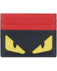 Fendi - Monster Eyes Card Holder - Lyst