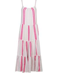 lemlem - Riban Cascade Dress - Lyst