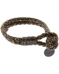 Bottega Veneta - Intrecciato Double Knot Bracelet - Lyst