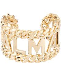 Balmain - Handcuff Bracelet - Lyst