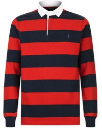 Ralph Lauren - Striped Rugby Shirt - Lyst