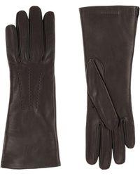 Burberry - Silk-lined Lambskin Gloves - Lyst