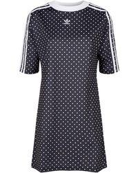4d0b9160542 adidas Originals Fashion League Dress In Black in Black - Lyst