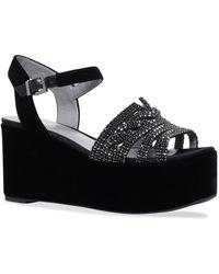 Gina - Luzon Embellishedwedge Shoes - Lyst