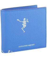 Alexander McQueen - Dancing Skelton Bifold Wallet - Lyst