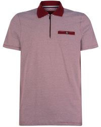 Ted Baker - Whippet Stripe Polo Shirt - Lyst