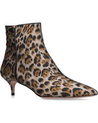 Aquazzura - Leopard Quant Boots - Lyst