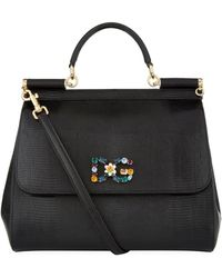 Dolce & Gabbana - Large Sicily Top Handle Bag - Lyst