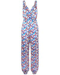Morgan Lane - Suki Tulip Print Sleeveless Jumpsuit - Lyst