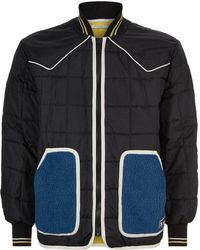 Givenchy - Quilted Piped Bomber Jacket - Lyst