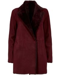Theory - Clairene Shearling Jacket - Lyst