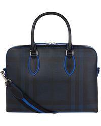 Burberry - Medium London Check Briefcase - Lyst