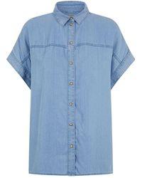 AllSaints - Pome Bay Shirt - Lyst