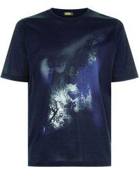 Zilli - Graphic Print T-shirt - Lyst