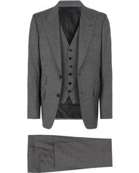Tom Ford - Windsor Prince Of Wales Check Suit - Lyst
