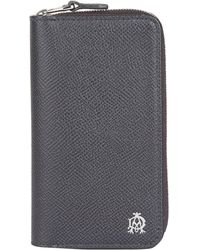 Dunhill - Leather Zip-around Key Case - Lyst
