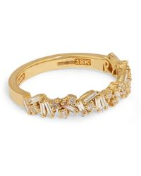 Suzanne Kalan - Yellow Gold And Diamond Fireworks Bliss Ring - Lyst