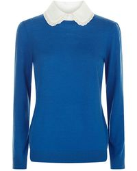 Claudie Pierlot - Peter Pan Collared Sweater - Lyst