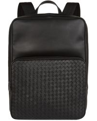 Bottega Veneta - Medium Intrecciato Backpack - Lyst
