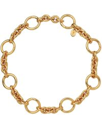 Links of London - Yellow Gold Capture Charm Bracelet - Lyst