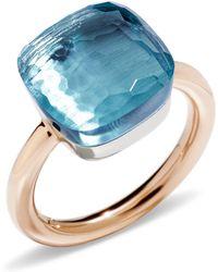Pomellato - Nudo Blue Topaz Maxi Ring - Lyst