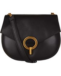 Sandro - Ring Lock Saddle Bag - Lyst