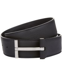 Tom Ford - T Clasp Leather Belt - Lyst