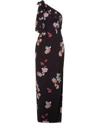 Keepsake - Morning Sky One Shoulder Gown With High Side Slit - Lyst