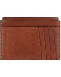 Brunello Cucinelli - Leather Card Holder - Lyst