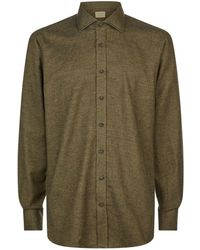 James Purdey & Sons - Brushed Cotton Shirt - Lyst