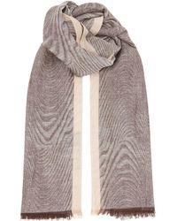 Corneliani - Textured Weave Scarf - Lyst