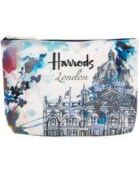 Harrods - Watercolour Cosmetic Bag - Lyst