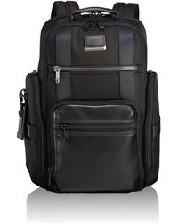 09d9bb6d8 Tumi Alpha Bravo Sheppard Deluxe Brief Pack(r) (black) Briefcase Bags in  Black for Men - Lyst