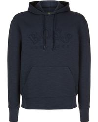 BOSS - Hooded Sweatshirt - Lyst