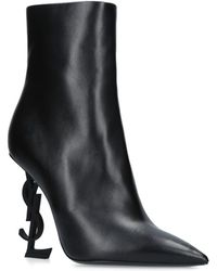 Saint Laurent - Opyum 110 Ankle Boots - Lyst