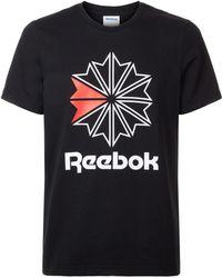 Reebok - Classics Big Logo T-shirt - Lyst