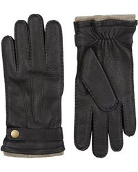 Harrods - Cashmere Lined Leather Gloves - Lyst