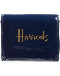 Harrods - Patent Travel Purse - Lyst