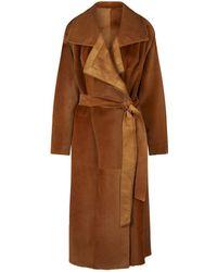 Akris - Tropical Kangaroo Fur Coat - Lyst