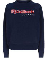 Reebok - Logo Sweater - Lyst
