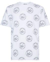 McQ - Swallow Badge Printed T-shirt - Lyst