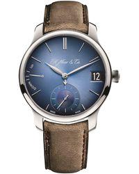 H. Moser & Cie - Endeavor Perpetual Calendar Watch 40.8mm - Lyst