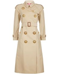 Burberry - Eastheath Button Trench Coat - Lyst