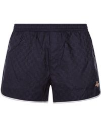 Gucci - Printed Swim Shorts - Lyst