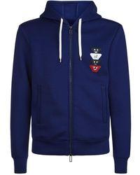 Emporio Armani - Eagle Logo Hoodie - Lyst