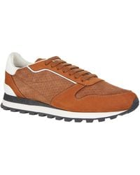 Brunello Cucinelli - Suede Sneakers - Lyst